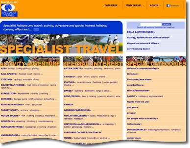 Travel-quest Specialist Travel Directory
